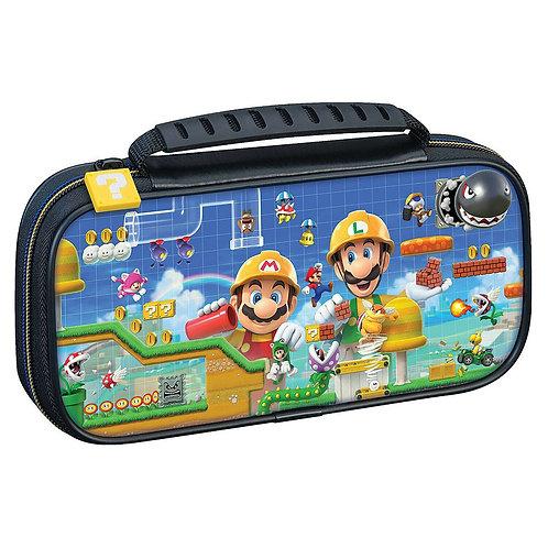 Game Traveler Deluxe Travel Case Mario Maker 2 Nintendo Switch Lite
