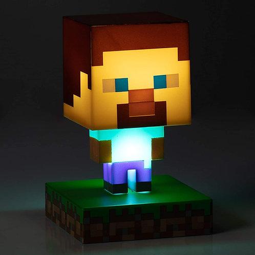Lampara Steve Minecraft