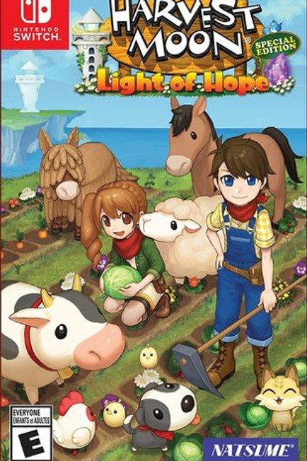 Harvest Moon Light of Hope Special Edition Nintendo Switch