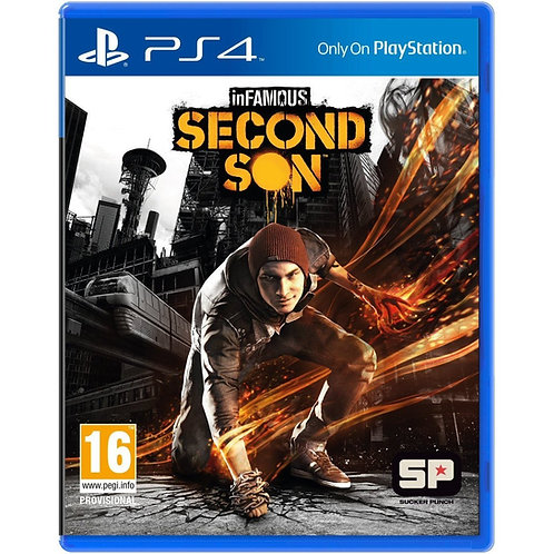 Infamous Second Son - PlayStation 4 Usado