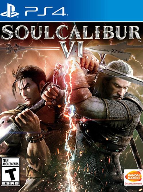 Soul Calibur Vl Playstation 4