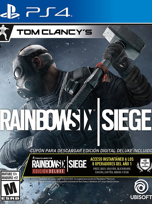 Tom Clancys Rainbow Six Siege Edicion Deluxe PlayStation 4
