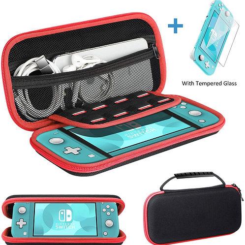 Estuche + Vidrio Templado Nintendo Switch Lite