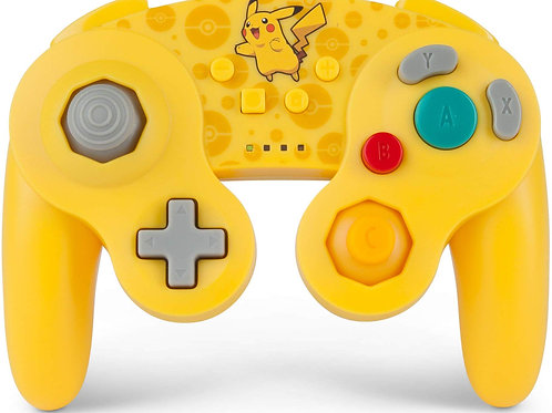 Control Inalambrico Nintendo Switch Pokemon Pikachu