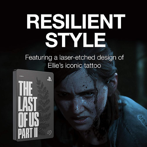Disco Duro Externo 2tb Edicion The Last Of Us 2