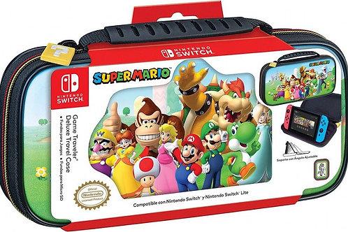 Estuche Game Traveler Deluxe Super Mario Color.