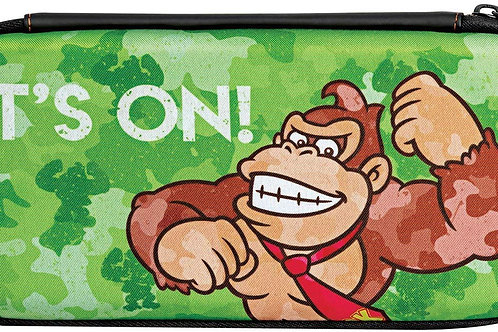 Estuche Nintendo Switch Donkey Kong Verde