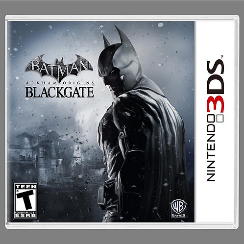 Batman: Arkham Origins BlackGate Nintendo 3DS
