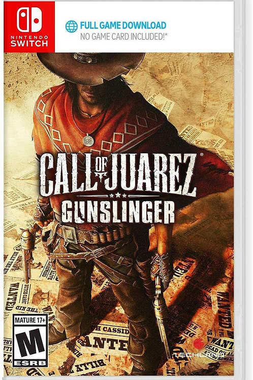 Call of Juarez Gunslinger Nintendo Switch