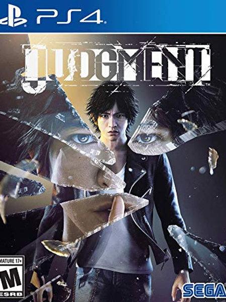 Judgment PlayStation 4