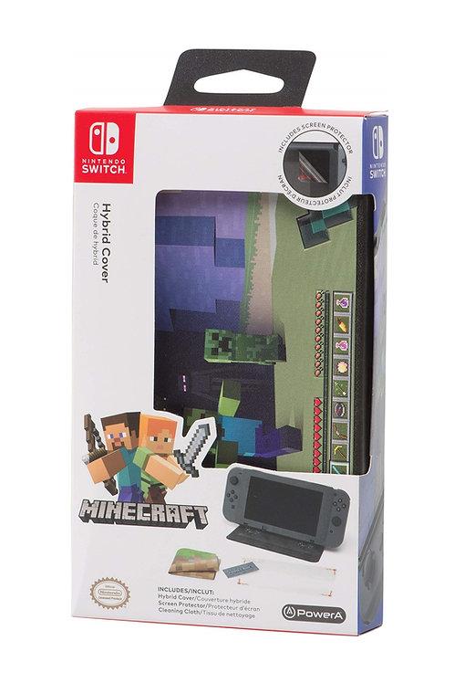 Hybrid Cover Minecraft World Nintendo Switch