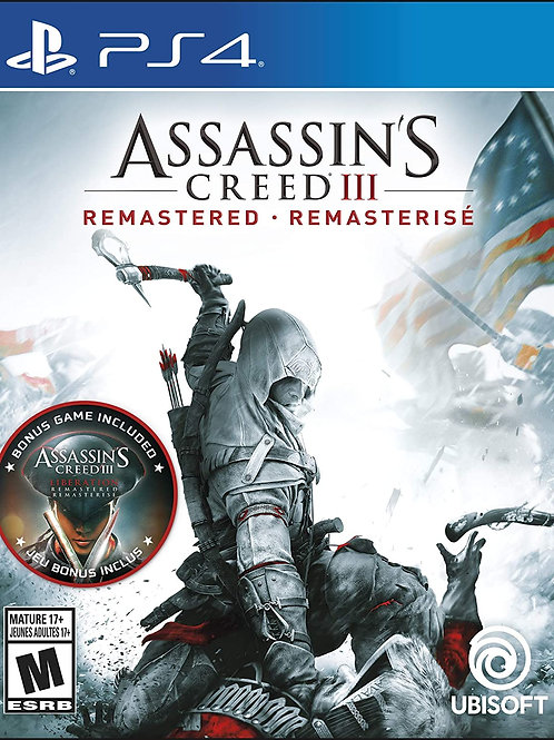 Assassin's Creed III: Remastered  PlayStation 4