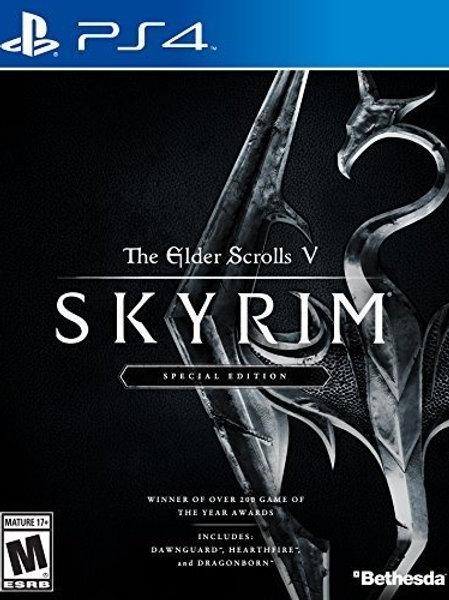 The Elder Scrolls V Skyrim Special Edition PlayStation 4
