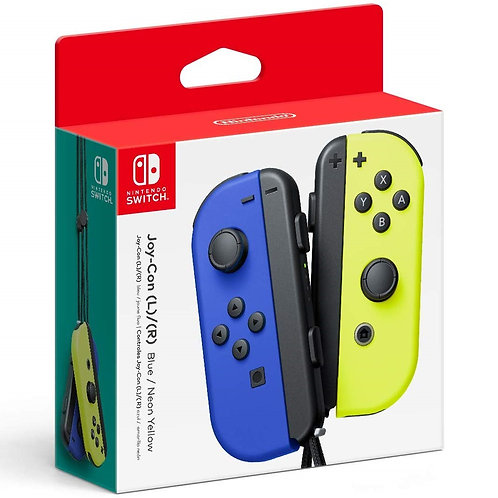 Control Joy Con Azul - Amarillo Nintendo Switch