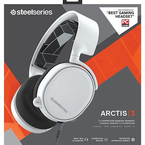 Headset Steelseries Arctis 3 Alambrico