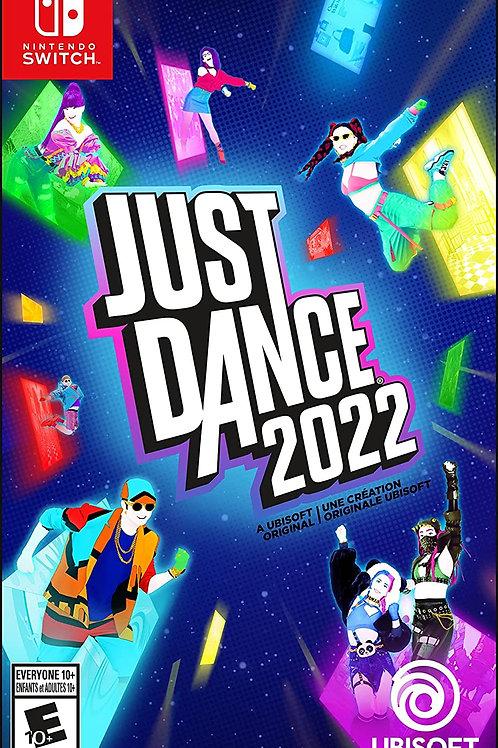 Just Dance 2022  Nintendo Switch Pre Venta