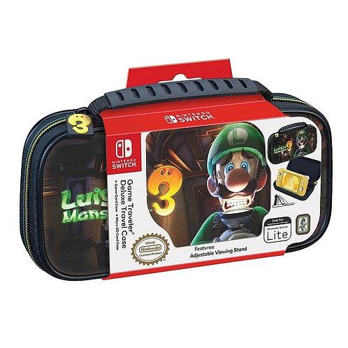 Game Traveler Deluxe Travel Case Luigi Mansion 3 Nintendo Switch Lite