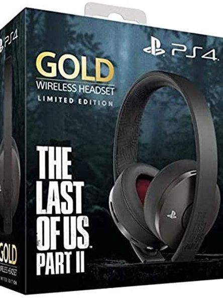 New Gold Wireless Stereo Headset The Last Of Us