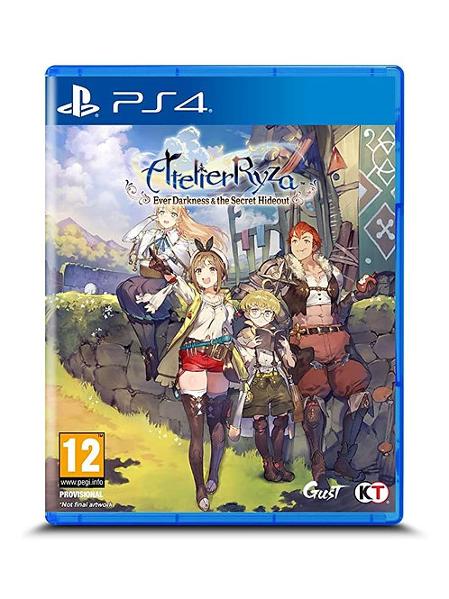 Atelier Ryza: Ever Darkness & the Secret Hideout PlayStation 4