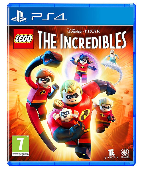Lego The Incredibles Play Station 4