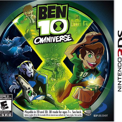 Ben 10 Omniverse Nintendo 3DS