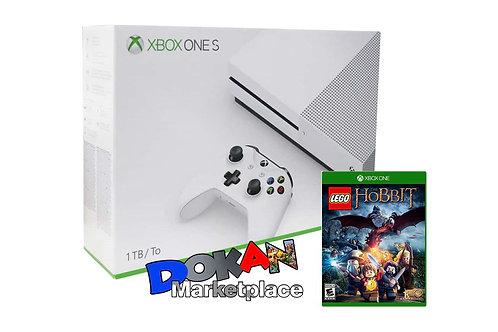 Xbox One S 1 TB + Lego Hobbit + 2 Juegos Deporte
