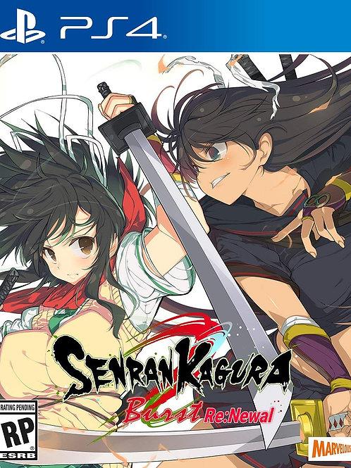 Senran Kagura Burst Re Newal Tailor Made Edition PlayStation 4