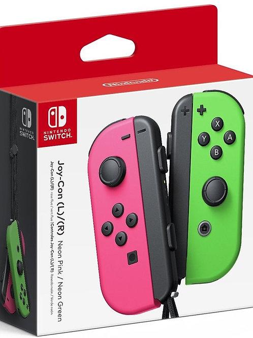 Control Joy Con Rosa Con Verde Nintendo Switch