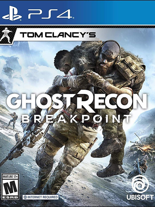Tom Clancys Ghost Recon Breakpoint Playstation 4