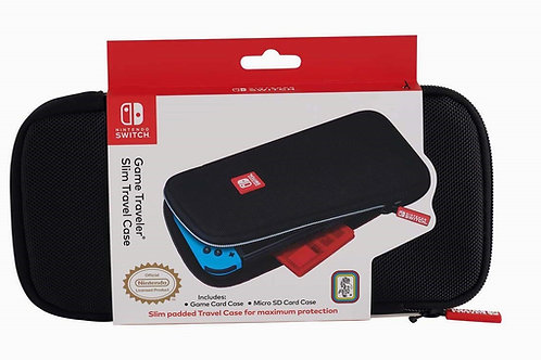 Estuche Slim Travel Case Negro Nintendo Switch