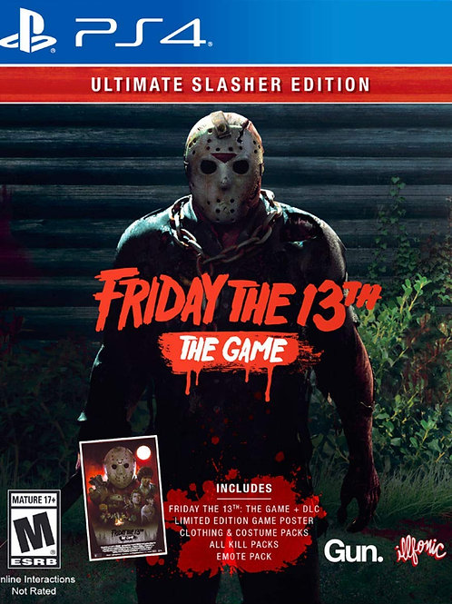 Friday The 13th The Game Ultimate Slasher Edition PlayStation 4