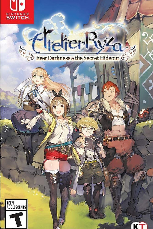 Atelier Ryza Ever Darkness & The Secret Hideout Nintendo Switch