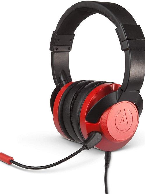 Headset Power A Fusion Negro - Rojo Multiplataforma