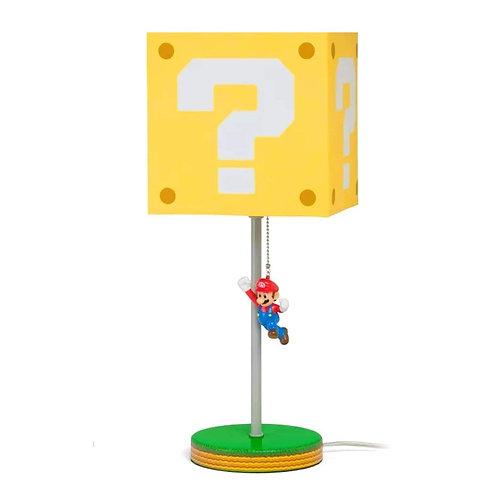 Lampara Question block Super Mario Bros.