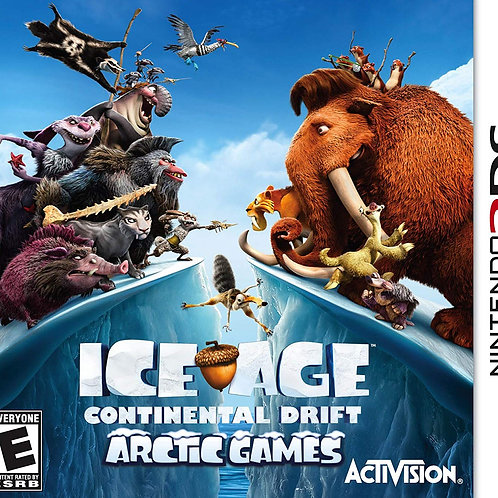 Ice Age Continental Drift Nintendo 3DS Usado