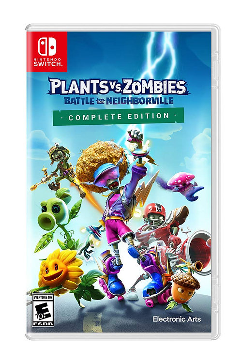Plants Vs Zombies Battle for Neighborville Complete Edition  Nintendo Switch
