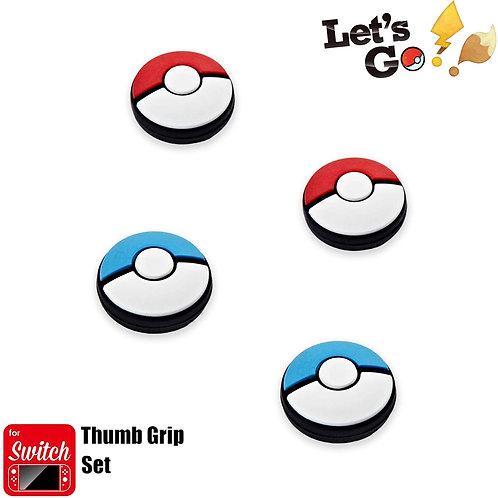 Pokeball Analog Caps Nintendo Switch