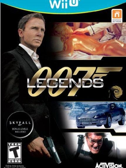 007 Legends Nintendo Wii U