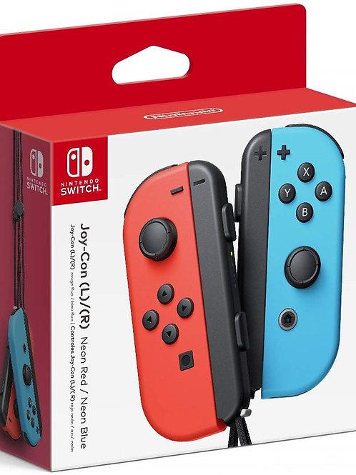 Control Joy Con Neon Rojo - Azul Nintendo Switch