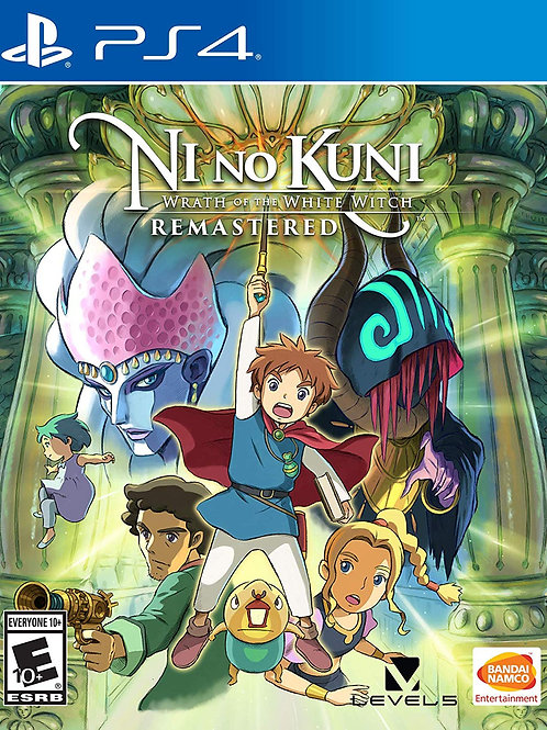 Ni no Kuni Wrath of the White Witch Remastered PlayStation 4