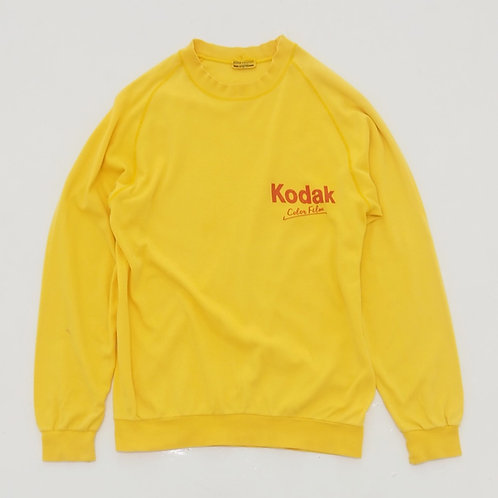 1980s Kodak 'Color Film' Long Sleeve Tee - Size S