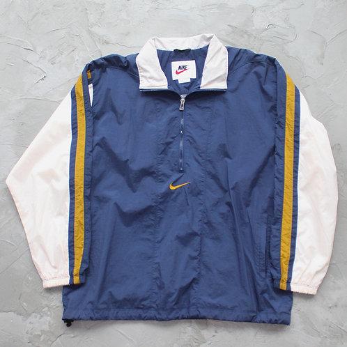 1990s Vintage Nike Half Zipped Anorak - Size L