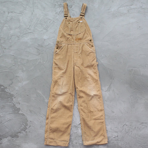 1980s Vintage Lee Corduroy Overall - Size M