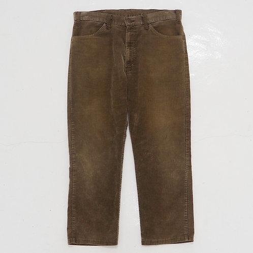 1980s Levi's White Tab 519 Corduroy Pants - W36