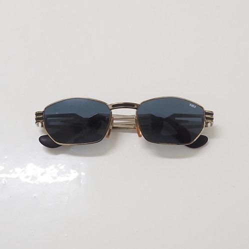 1990s Diablo NOS Metal Rectangle Sunglasses - Size OS