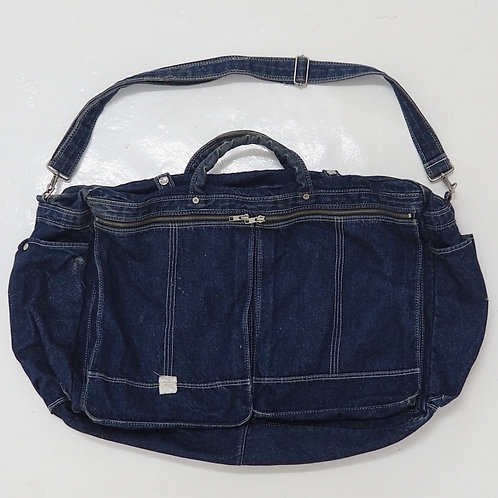 1990s Kid's Company Denim Duffer Bag - Size OS