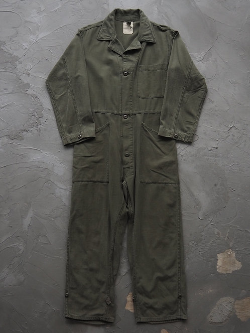 1980s Vintage Military Coverall - Size M