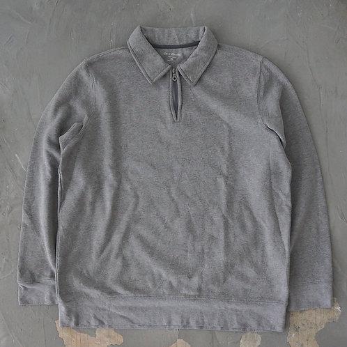 Craft & Barrow Quarter Zip Sweatshirt - Size XL