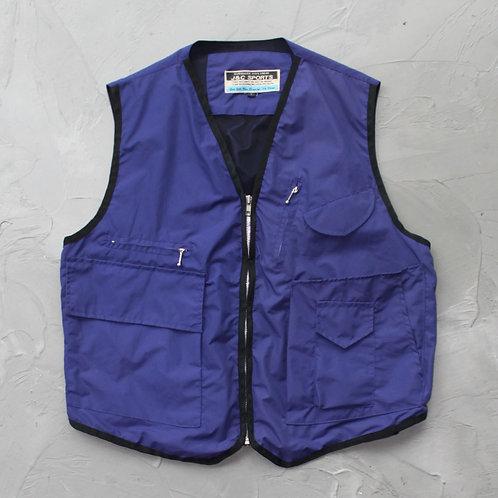 1980s J&C Sports Vest - Size L