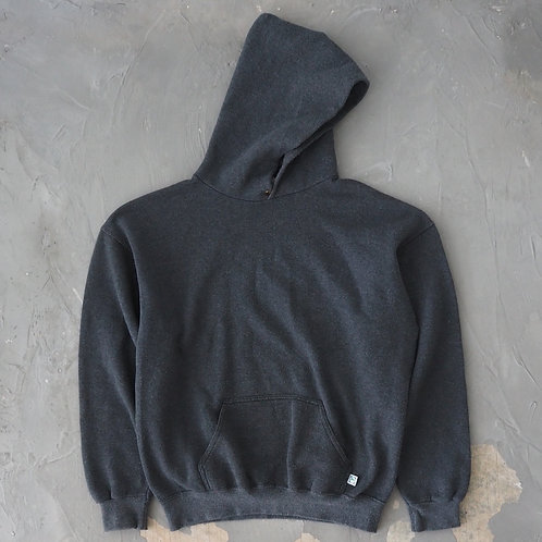 1990s Discus Athletic Grey Hoodie - Size L